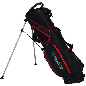 Fastfold UL 7.0 Standbag Golftas, Zwart/Rood