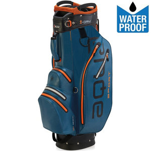 Big Max Aqua Sport 2 Waterproof Cartbag Golftas, Blauw/Oranje