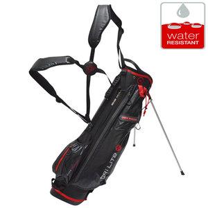 Big Max DriLite 7 Standbag Golftas, Zwart/Rood