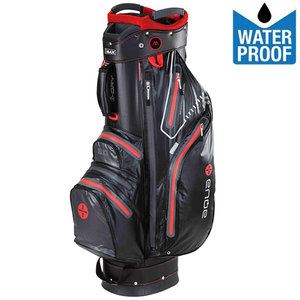 Big Max Aqua Sport Waterproof Cartbag Golftas, Zwart/Rood